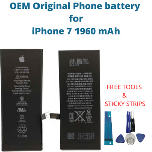 OEM Original Battery For iPhone 7 1960 mAh Capacity Genuine Replacement Battery