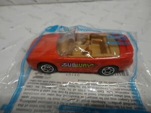 Matchbox Subway Sandwiches Red Ford Mustang in Baggie
