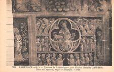 ANGERS - tenture de l'apocalypse -Dieu et l'agneau, anges et martyres