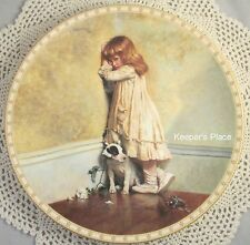 The Original In Disgrace 1st In Victorian Childhood Series R. Doulton Plate Mint