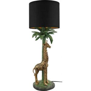 Floor Lamp Giraffe Or Zebra 22 13/16in Gold Lamp Deco Modern Midcentury Design
