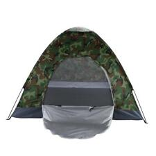 3-4 Man Persons Camouflage Dome Tent Outdoor Hiking Waterproof Camping Fishing