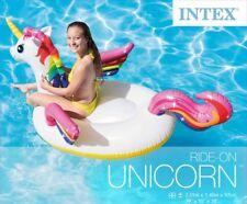 Intex 57561NP 201x104x97cm Einhorn Schwimmtier