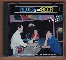 """GRIFF cd """"Blues And Beer"""" 1998 Ripete NEW Sealed 14 Tracks HAL MOORE Sue Mallini"""