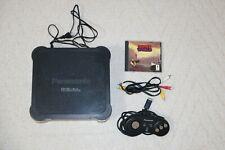 Panasonic 3DO REAL FZ-1 console + controller + Another World - 4EKSD55819 ntsc-j