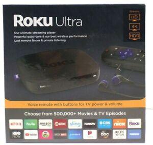Roku Ultra Streaming Media Player with JBL Headphones