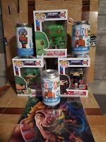 MOTU Ninjor & King Hiss & He-Man Funko Pop Exclusive + Man At Arms Cans ECCC 💥