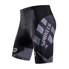 Cycling Shorts Mens Sports Bike Wear 3D GEL Padded MTB Biking Tights Grey US L