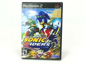 Sonic Riders (PlayStation 2, 2006) PS2 Case Only Black Box