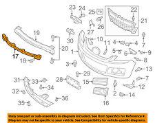 MAZDA OEM 07-09 CX-7 Bumper Face-Foam Impact Absorber Bar EG2150111B
