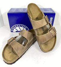 Birkenstock Arizona BS Men's Size 10 (EU43)Reg Fit Brown Leather Sandals KB-2306