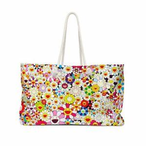 Takashi Murakami | Flowers in Heaven All-Over Print Tote Bag or Weekend Bag