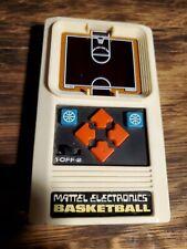 New ListingVintage 1978 Mattel Electronics Basketball Handheld Game (Works fine)