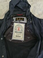 Mens used barbour jacket xl