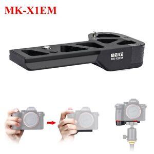 Meike MK-X1EM Metal Bracket Hand Grip For Sony A9 A7MIII a7RIII a7RII a7II a7SII