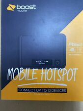 Boost Mobile FRKR850ABB R850 Franklin Wireless 4G LTE Mobile Hotspot - Black