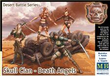 Master Box 1/35 Crâne Clan - Mort Anges, Désert Bataille Séries # 35122
