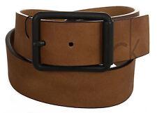 Cintura pelle uomo CK CALVIN KLEIN JEANS K50K500965 taglia 115 c.223 COGNAC