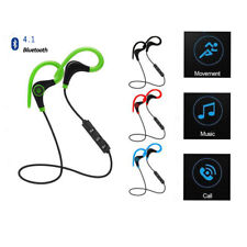 Universal 4.1 Bluetooth Wireless Stereo Earphone Earbud Sport Headphones Headset