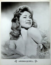 "Virginia Bell burlesque Booking Photo 11x14"" Photo Print"