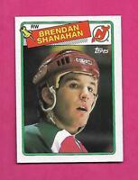 1988-89 TOPPS  # 122 DEVILS BRENDAN SHANAHAN  ROOKIE NRMT-MT  CARD (INV# D1609)