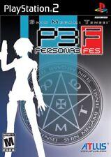 Shin Megami Tensei: Persona 3 FES [PlayStation 2 PS2, Atlus Horror JRPG] NEW