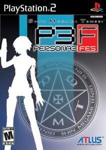 Shin Megami Tensei: Persona 3 FES - PlayStation 2 PS2 [Atlus Horror JRPG] NEW