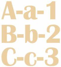 EXTRA LARGE eventuali lettere in legno MDF 40 CM-FATTO A MANO, names,signs-britanic