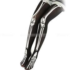Skeleton Bone Skull Tights Women Girl Punk Gothic Pantyhose Stockings NEW