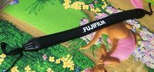 Black Adjustable Soft Neck Shoulder Strap For FUJIFILM FUJI Camera