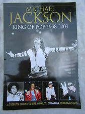 More details for programme a tribute to michael jackson king of pop 1958 / 2009