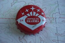 Vintage BEER Bottle Crown Cap: Cerveza de BRAHMA ~ Formally of BRAZIL Since 1888