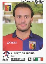 ALBERTO GILARDINO # ITALIA GENOA.CFC RARE UPDATE STICKER CALCIATORI 2012 PANINI