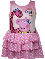 PEPPA PIG & HER FRIEND DINO DRESS - New