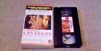 Leaving Las Vegas UK PAL VHS VIDEO 1996 Nicolas Cage Elisabeth Shue Julian Sands