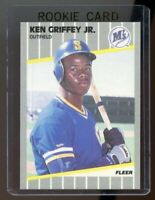 1989 Fleer #548 Ken Griffey Jr. Mariners RC Rookie Card