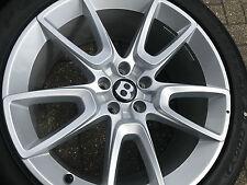 "20"" BENTLEY GT GTC SPUR alloy wheels pirelli tyres genuine fit vw phaeton OE NEW"