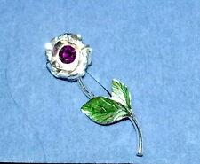 Schicke Brosche/Anstecknadel! Rose Rose Pin
