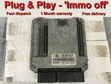 VW Touran 1.9 Tdi BKC ECU 03G906016CD 0281011945 EDC16U1 *Plug & Play* IMMO OFF