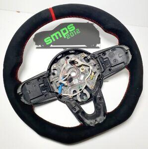 Gen 3 F56 Black & Red Full Alcantara Steering wheel AUTO, JCW Pro