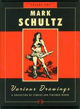Mark Schultz ~ Various Drawings Volume 1 ~ Softcover First Print ~ 2005 Flesk