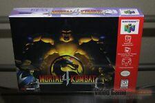 Mortal Kombat 4 (Nintendo 64, N64 1997) FACTORY SEALED & MINT! - ULTRA RARE!
