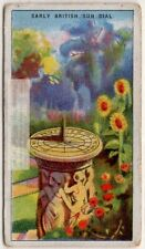 The Sundial Timekeeper Time Piece 1920s Ad Trade Card