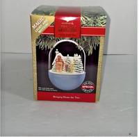 Hallmark Keepsake Ornament BRINGING HOME THE TREE  Magic Light Motion 1991