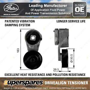 Gates DriveAlign Alternator Tensioner Unit for Ford F150 Bronco Width 29.5mm