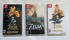 Legend of Zelda Breath of the Wild Replacement Case Expansion Pass Display Case