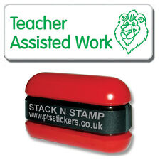 SZ5 - Pre-Inked Teacher Assisted Work Classroom Resource Stamper