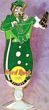 Hard Rock Cafe BELFAST 2002 HURRICANE GLASS Series PIN w/Leprechaun - HRC #16143