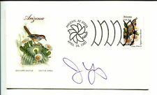 Jim Young BC Lions Canadian Football HOF Minnesota Vikings Signed Autograph FDC