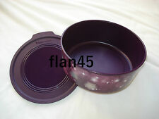 Boîte Optimum 1.5 l ronde violette avec étoiles Tupperware, étanche, hermétique